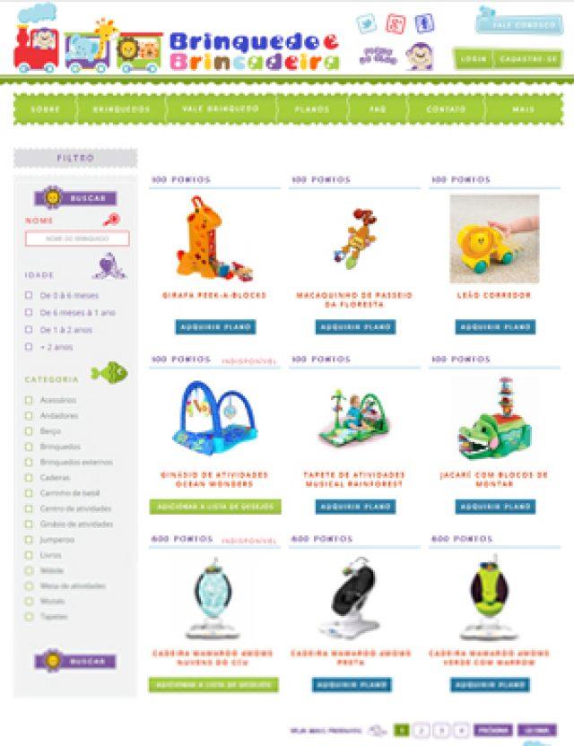 Criação de site infantil