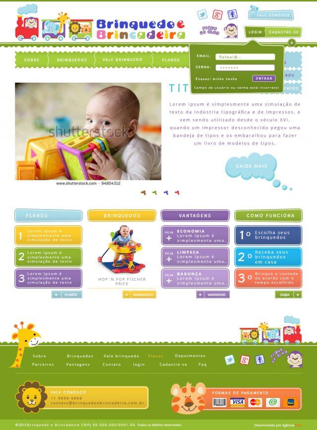 site brinquedo
